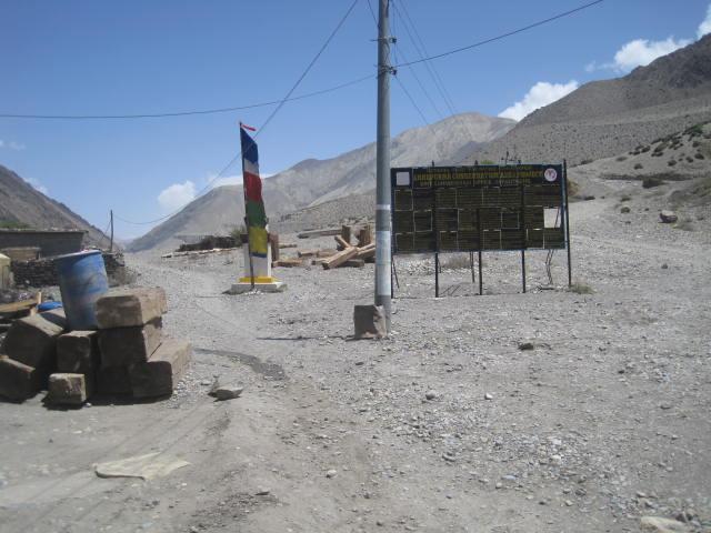 annapurnaJomsom to Muktinath trek